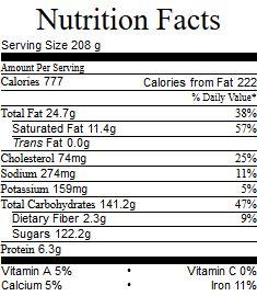mocha-spice-cake-nutrition