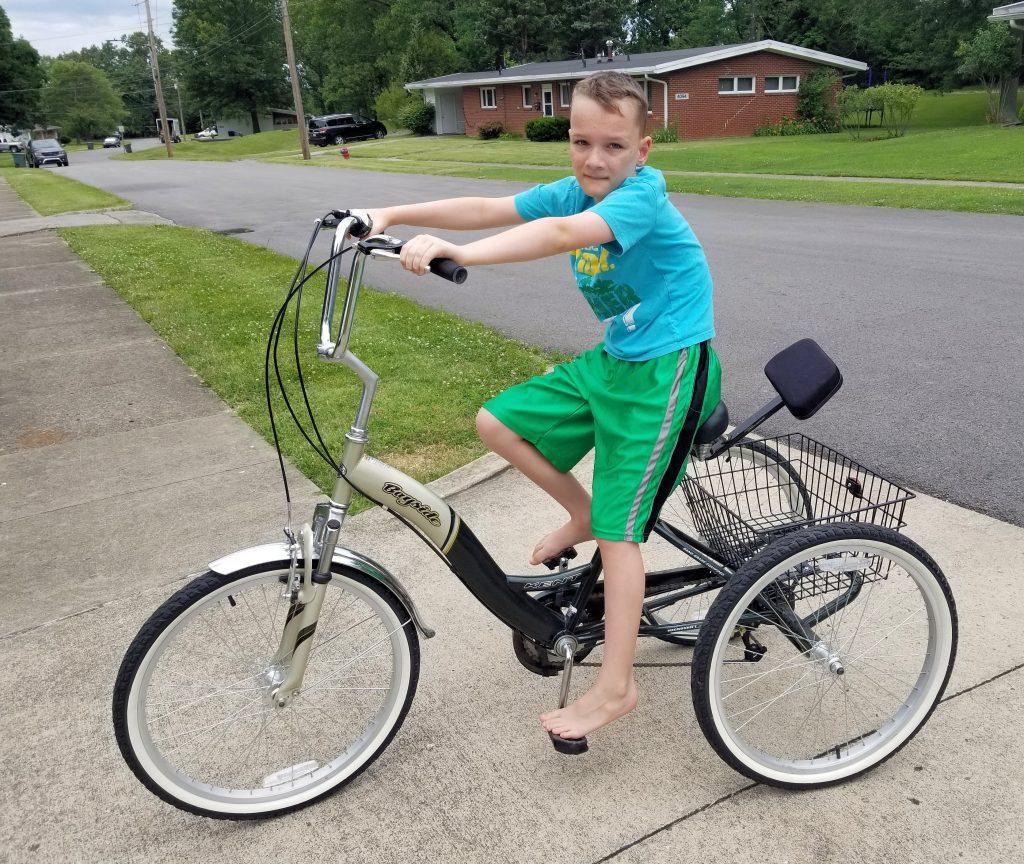 Scott Rides a Delta Trike