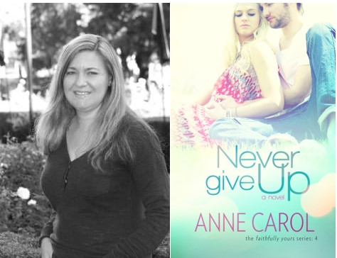 Interview with Anne Carol and a Giveaway