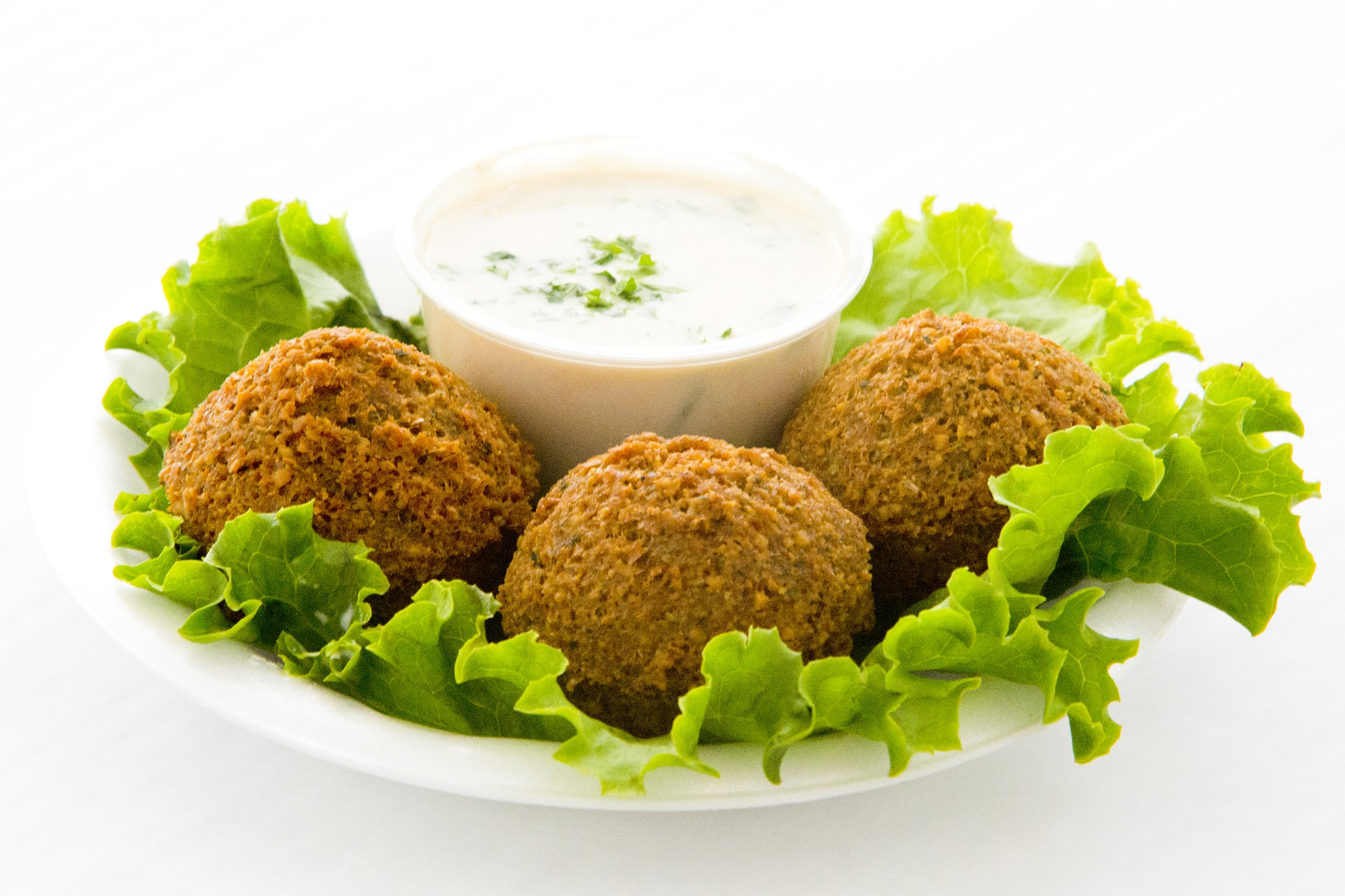Sarah's Choice Falafel with Yogurt Sauce