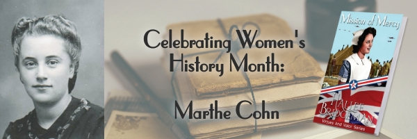 Celebrating Women's History Month: Marthe Cohn