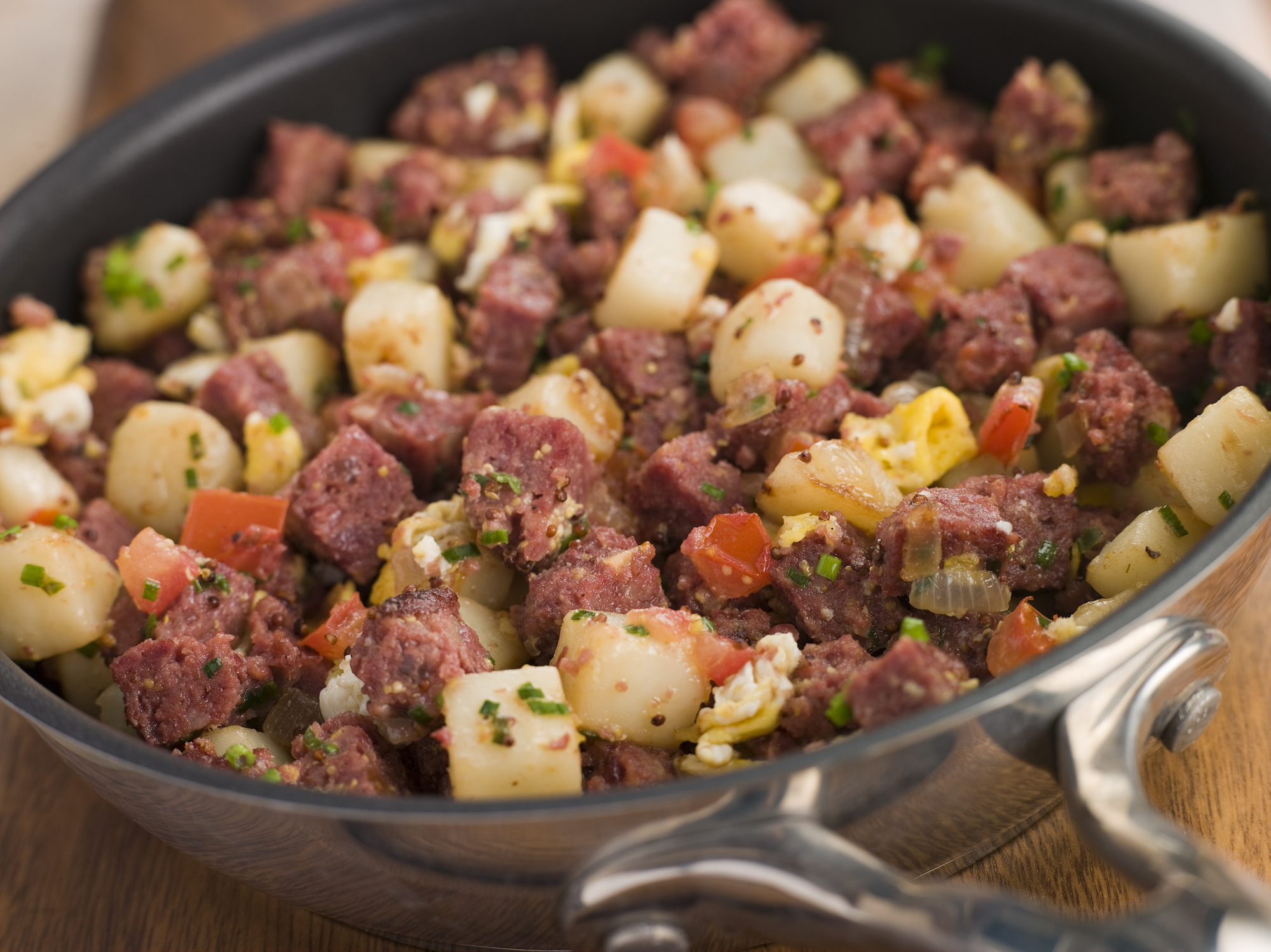 Texas Pearl's Famous Corned Beef Hash