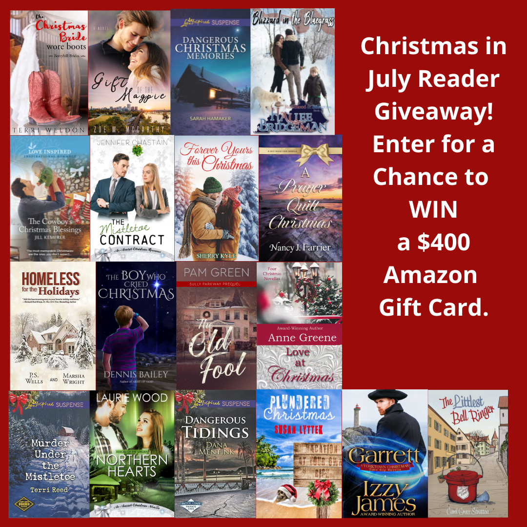 Christmas in July and a Chance to Win $400!