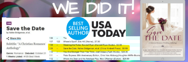 USA Today Bestseller!