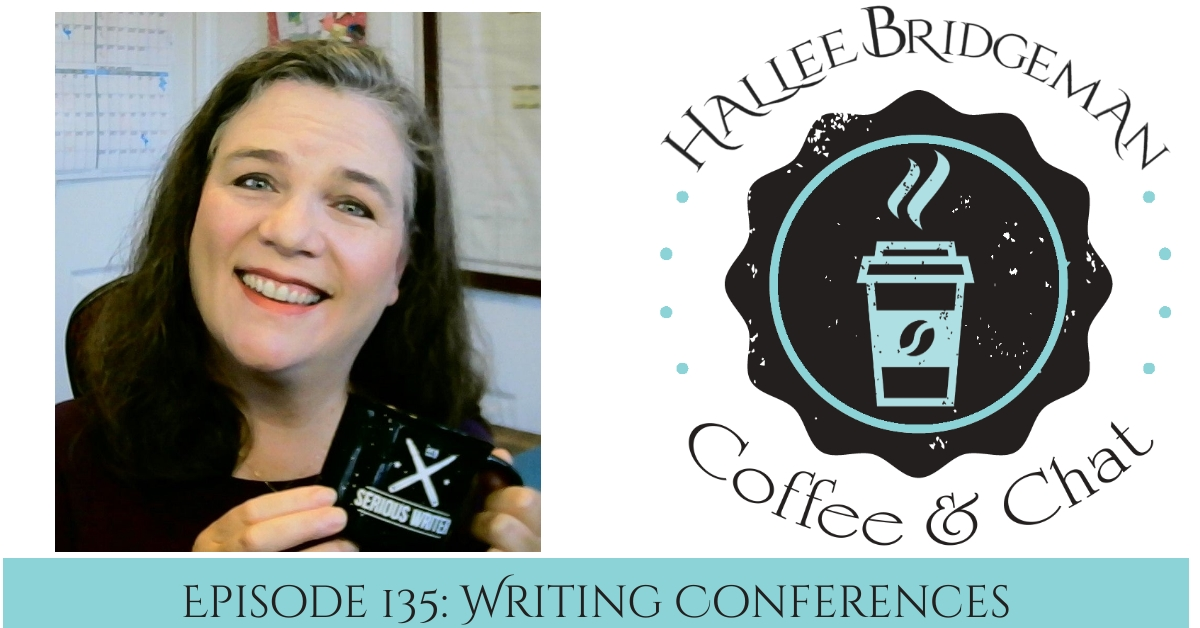 Monday Morning Coffee and Chat Episode 135: Writing Conferences
